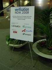Verification Now 2008 - Santa Clara
